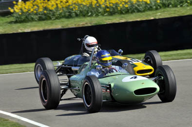 Andrew Beaumont in a Lotus 24