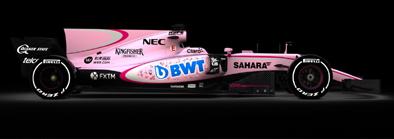 There will be no mistaking a Force India this year
