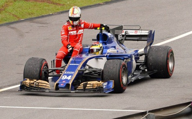 Will Wehrlein stay on the Round-about by getting chumy with Vettel?