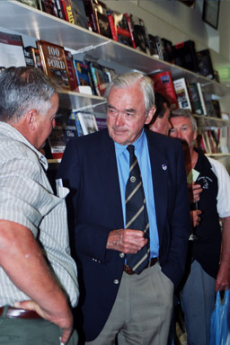Tony at the launch of the Lex Davison biography