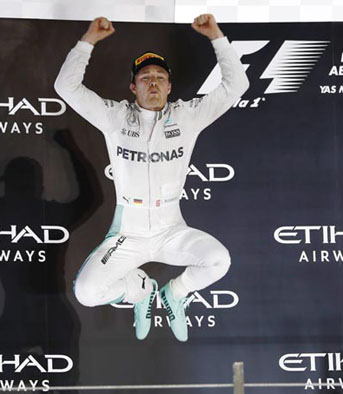 After one last leap, Rosberg calls time on his career